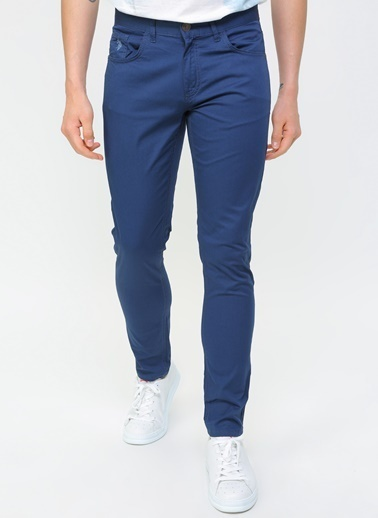 U.S. Polo Assn. U.S. Polo Assn. Slim Fit Erkek Pantolon İndigo
